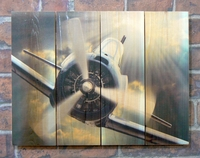 3-Blade Propeller Indoor Outdoor Art - Medium
