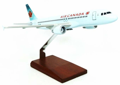 Air Canada A320 Model Airplane
