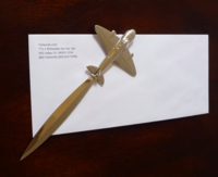 Airplane Letter Opener