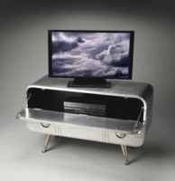 Aviation Style Media & TV Console