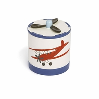 Airplane Cotton Jar - Save 30%