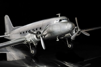 Large Aluminum DC-3 Dakota Model