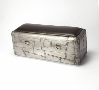 Aviator's Storage Bench