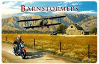 Barnstormers Metal Sign  - Save 29%