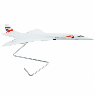 British Airways Concorde Model Airplane