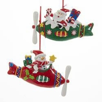 Claydough Airplane Ornaments