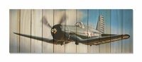 Corsair In Flight Indoor Outdoor Art - Large