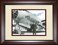 Signed Enola Gay Print by Paul Tibbets