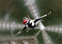 F-16 Falcon Thunderbird Print - Award Winner