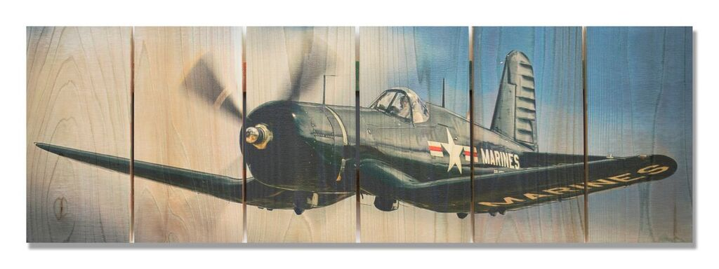 F4u Corsair Indoor Outdoor Art Aviation Art Airplane