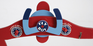 Airplane Decor | Fly Boy Rocking Chair | Aviation Furniture | Tailwinds