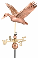 Flying Duck Weather Vane