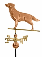 Golden Retriever Dog Weather Vane