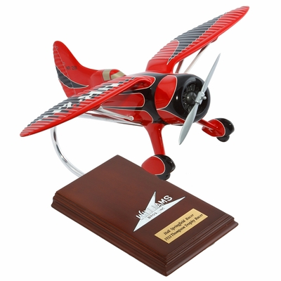 Hall's Bulldog Racer Model Airplane