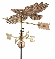Hawk Weather Vane