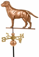 Labrador Retriever Weather Vane