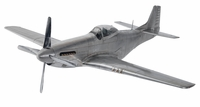 Large Aluminum P-51 Mustang Model | Super Sale