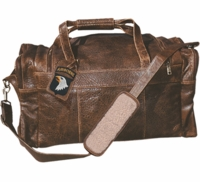 Airborne Leather Duffel Bag - Medium