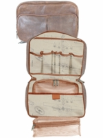 Aero Squadron Leather Travel Kit