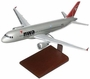 Northwest Airlines A320 Model Airplane