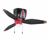 P-40 Tigershark Ceiling Fan | Low Price Match Guarantee