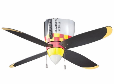 P-51 Mustang Ceiling Fan ✈ Low Inventory