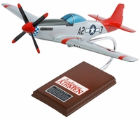 P-51 Mustang Tuskegee Airman Model