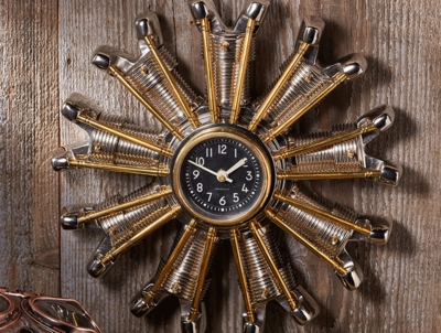 Radial Engine Wall Clock