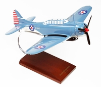 SBD 5 Dauntless Model Airplane Gray