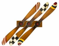 Set of 3 Barnstormer Propellers with Rack