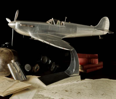 Spitfire Metal Model Aircraft