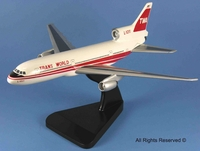 Trans World Airlines Lockheed L-1011 Tristar Model Airplane