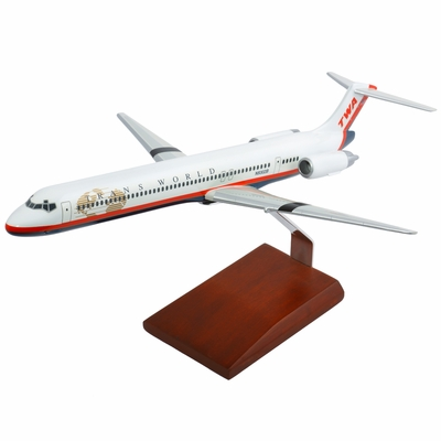 Transworld Airlines MD-80 Model