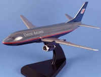 United Airlines B-737-300 Model Airplane