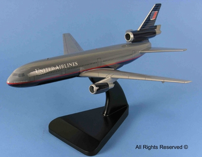 United Airlines DC-10 Model Airplanes