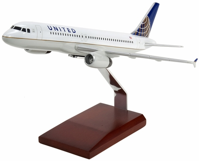United/Continental Airbus A320 Model