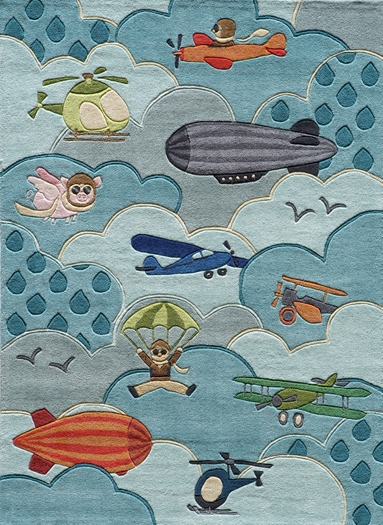Airplane Decor Airplane Rug Airplane Nursery Aviation