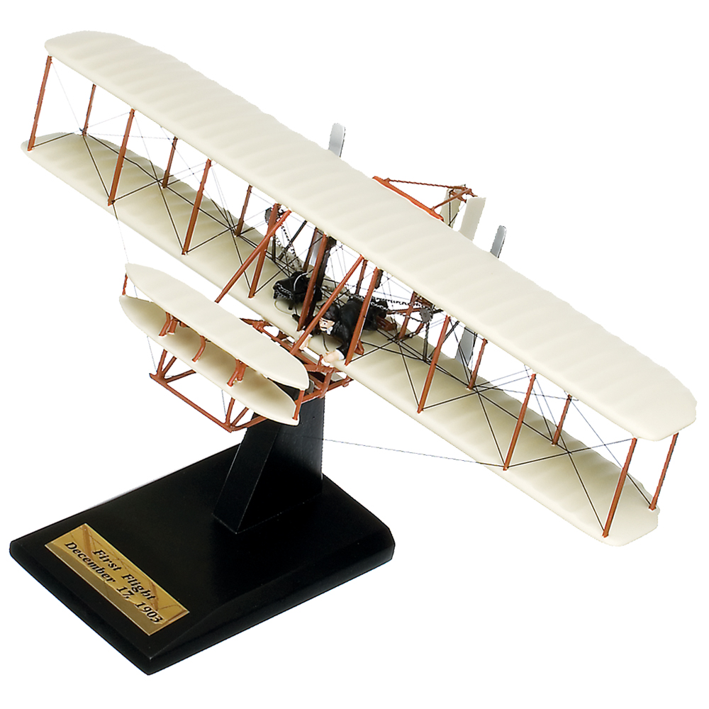 Wright Flyer Kitty Hawk Replica Model Airplane Scale