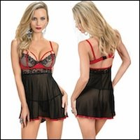 Exposed Baby Doll Set