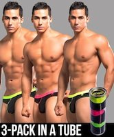 Andrew Christian Almost Naked Boy Brief 3-Pack