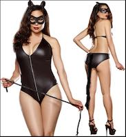 Bad Kitty Queen Costume Fetish Fantasy Set