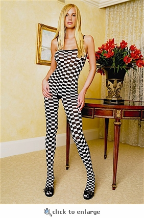 Bodystocking Checkerboard #8715