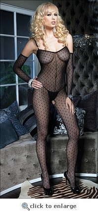 Bodystocking & Gloves Mini Daisy #8254