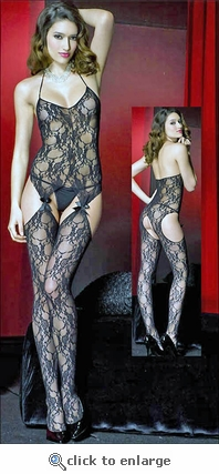 Bodystocking Suspender Lace