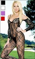 Bodystocking w/Half Sleeve #8046
