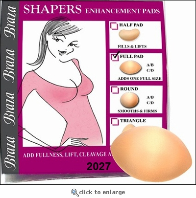 Bra Pads Fabric Covered Foam Shapers