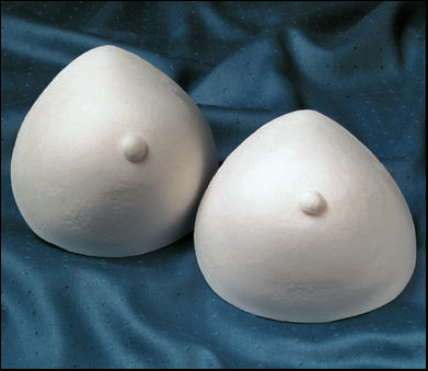 Breast Forms Foam Full Size