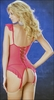 Bustier & Stockings Set Fruit Punch