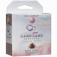 Candiland Chocolate Kiss Body Icing