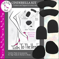 Cinderella High Heels Comfort Kit